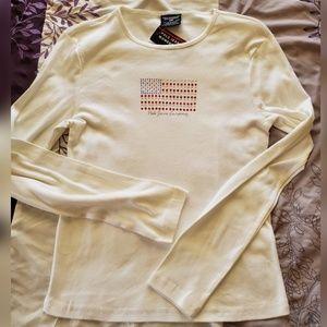 Ralph Lauren Polo Jeans U.S. Flag Shirt M